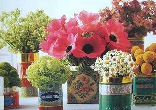 Flower Tin Still Life