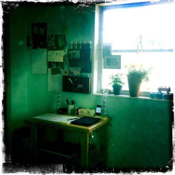 Beginnings of a Summer Studio